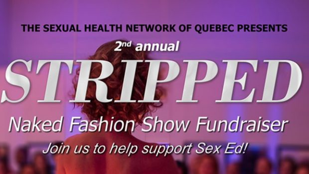 STRIPPED: NAKED FASHION SHOW FUNDRAISER